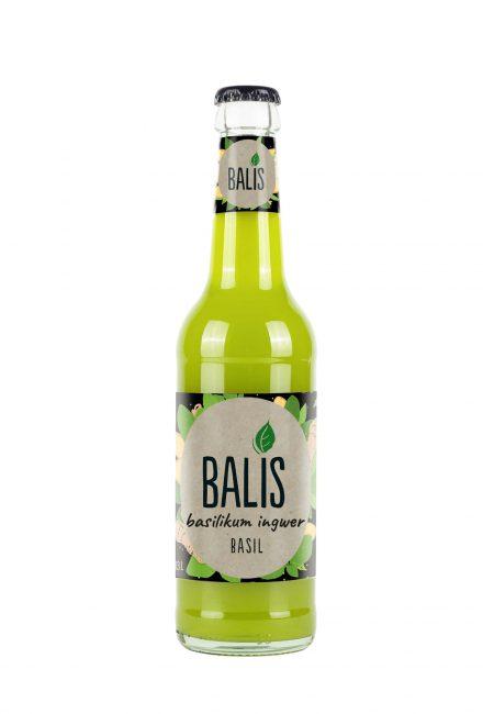 BALIS Basil, 0.33l (Basilikum Ingwer)